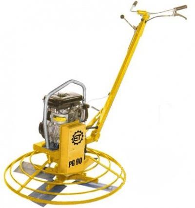 Ручные однороторные затирочные машины ET-Constructions PG90